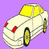 Colorear coche rápido estrella juego