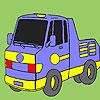 Colorear carro de granja juego