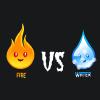 Fuego Vs agua juego