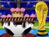 Decoración de pastel FIFA juego