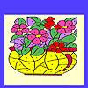 Flores en el color de Jarrón juego