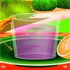 Bebida con sabor a fruta de verano juego
