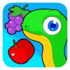 Serpiente de fruta juego