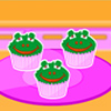 Cupcakes de rana juego