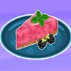 Congela Blackberry tarta Chifón de limón juego
