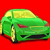 Para colorear de coches de velocidad completo juego