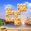 Divertidos piratas Mahjong juego