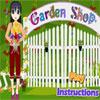 Tienda de jardín juego