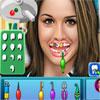 Gemma Atkinson en el dentista juego