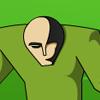 Alien verde juego