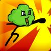 Nube verde puño de furia juego
