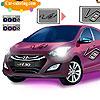 colorear coche de i30 juego