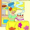 Niños colorear pastel increible juego