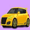 Coloración de coche familiar pequeño juego