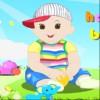 Pequeño bebé encantador juego