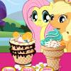 Pequeño Pony Ice Cream juego
