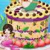Torta de sirena encantadora juego