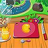 Hacer manzanas al horno juego