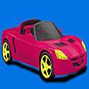 Para colorear de coches de ciudad marginal juego