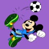 Mickey Mouse colores juego
