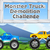 Monster Truck Challenge de demolición juego