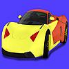 Para colorear de coches de concepto moderno juego