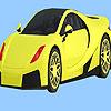 Para colorear de coches de ciudad moderna juego