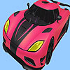 Most speed car coloring juego