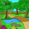 Nature Scenery Coloring juego