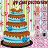 Decoración de la torta de NY juego
