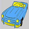 Oldest open top car coloring juego