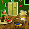 Old Green Room Escape juego