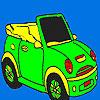 Abrir coche deportivo para colorear juego