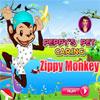 Peppys mascotas cuidado - mono Zippy juego
