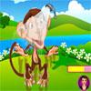 Peppys mascotas cuidado - oscilante mono juego