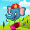 Mascotas Vestido de elefante juego