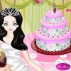 Decoración de pastel de boda perfecto juego
