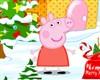 Peppa Pig decorado Navidad juego