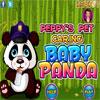 Peppys mascotas cuidado - bebé Panda juego