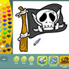 Pirates coloring pages juego