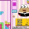 Pou Tetris juego