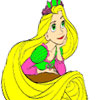 Princess Has a Long Hair Coloring juego