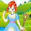 La princesa Bloom Dressup juego