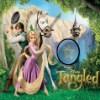 Princesa Rapunzel oculta estrellas juego