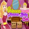 Cuidado del bebé de Princesa Aurora juego