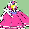 Reina madre para colorear juego