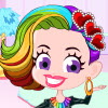 Rainbow Hairstyle juego