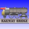 Puente ferroviario de manera juego