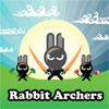 Arqueros de conejo juego