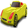 Red seater car coloring juego